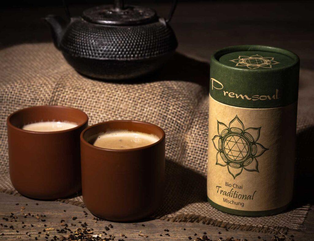 Traditionelle Masala Chai von Premsoul Bio Chai